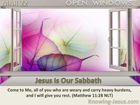 Jesus Is Our Sabbath
